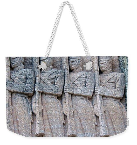 Grant Hall Cadet Fresco Weekender Tote Bag