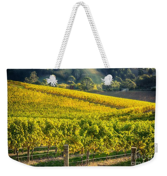 Grape Expectations Weekender Tote Bag