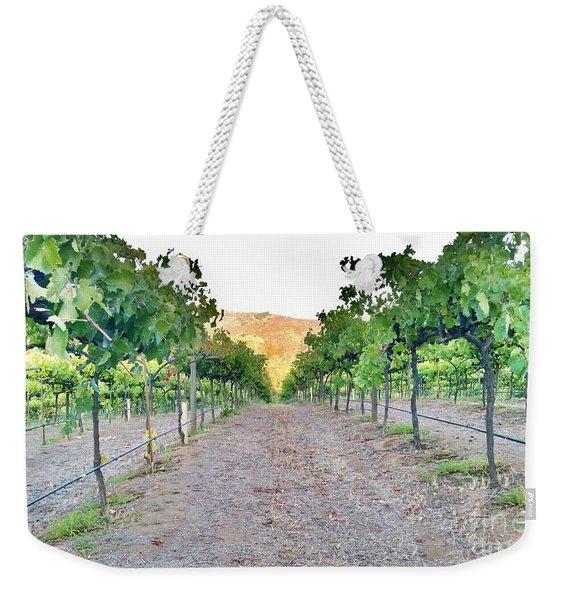 Grape Vines Weekender Tote Bag
