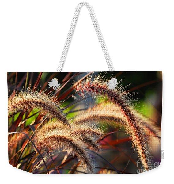 Grass Ears Weekender Tote Bag