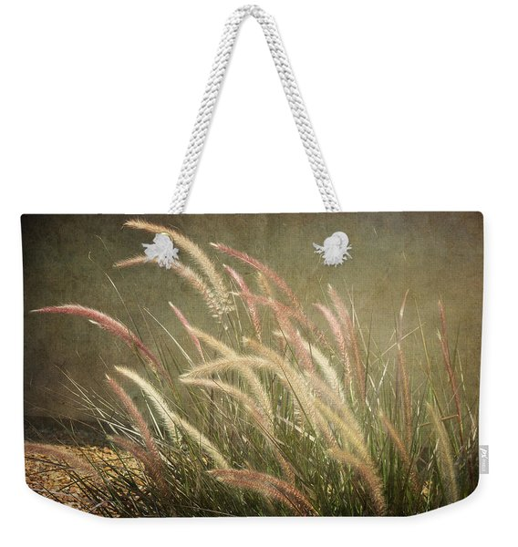 Grasses In Beauty Weekender Tote Bag