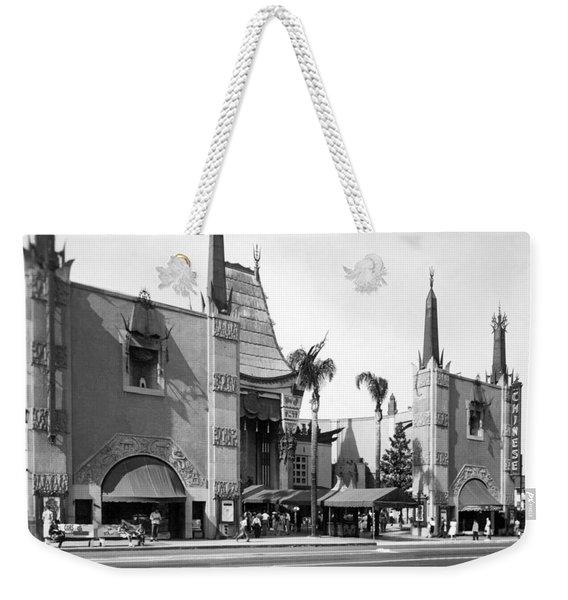 Grauman's Chinese Theater Weekender Tote Bag