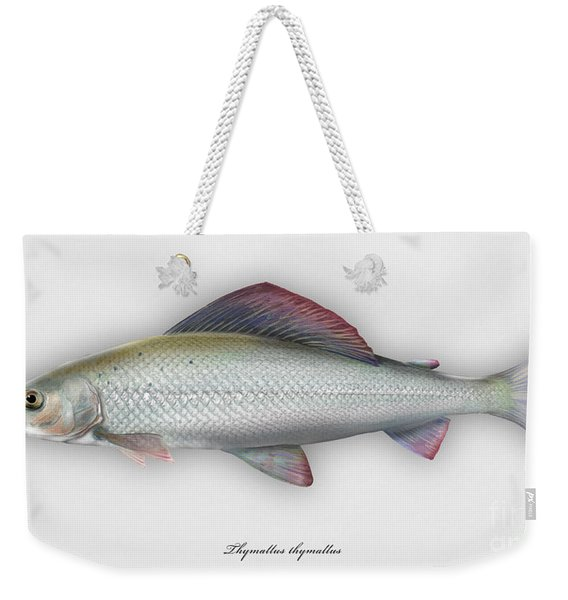 Grayling - Thymallus Thymallus - Ombre Commun - Harjus - Flyfishing - Trout Waters - Trout Creek Weekender Tote Bag