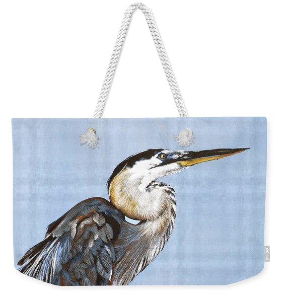 Great Blue I Weekender Tote Bag