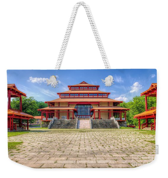 Great Buddha Hall Weekender Tote Bag