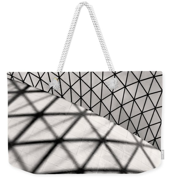 Great Court Abstract Weekender Tote Bag