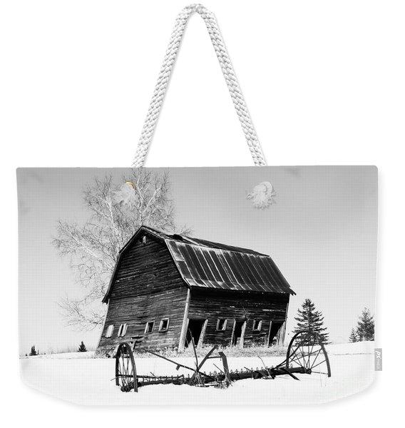 Great Grandfather's Barn Weekender Tote Bag