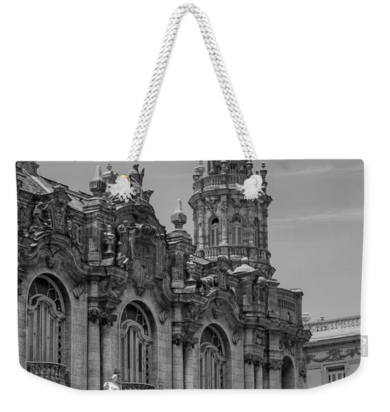 Great Theatre Of Havana  Havana, Cuba Weekender Tote Bag