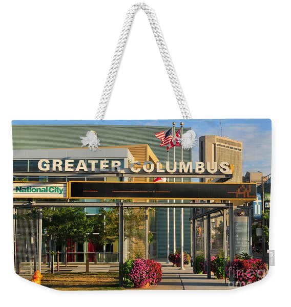D8l-245 Greater Columbus Convention Center Photo Weekender Tote Bag
