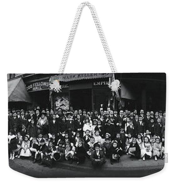 Greek Odd Fellows Weekender Tote Bag