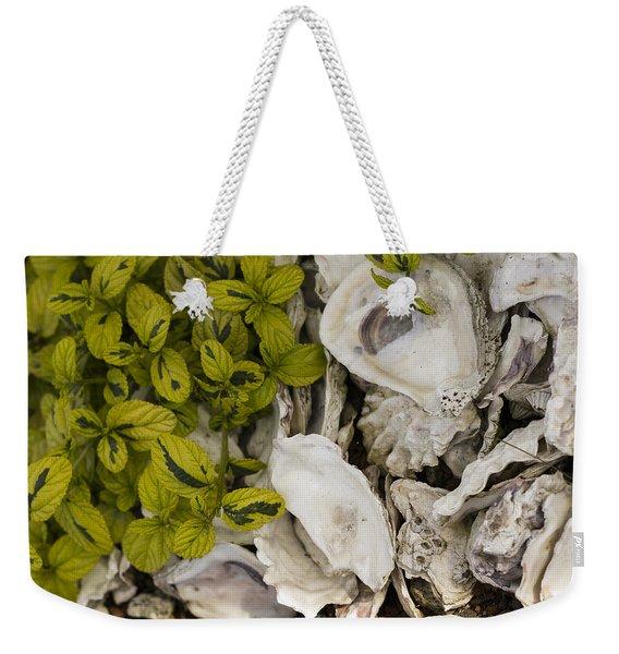Green Abalone Weekender Tote Bag