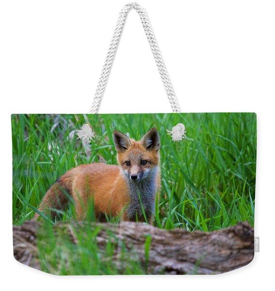 Green As Grass Weekender Tote Bag