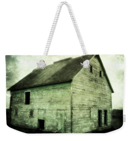 Green Barn Weekender Tote Bag
