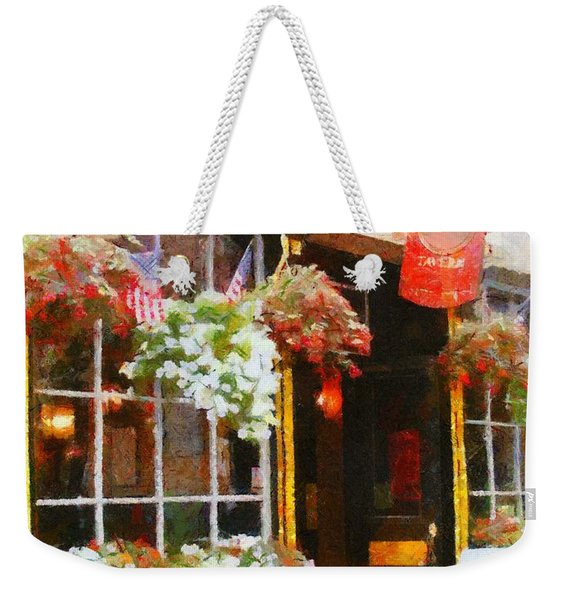 Green Dragon Tavern Weekender Tote Bag