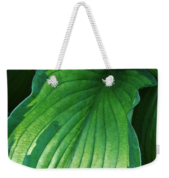 Green Envy Weekender Tote Bag