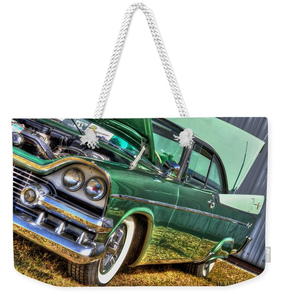 Green Machine Weekender Tote Bag
