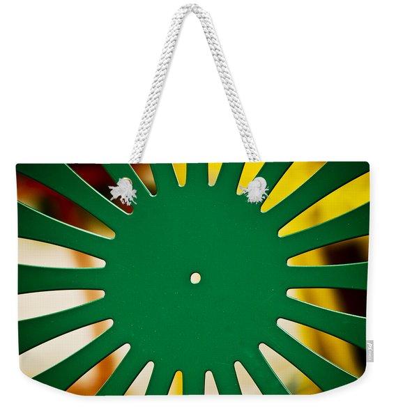 Green Memorial Union Chair Weekender Tote Bag
