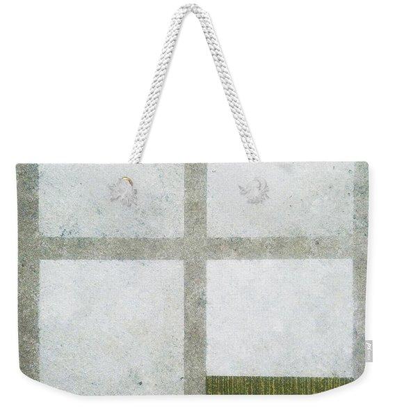 Green Painting 1 Weekender Tote Bag