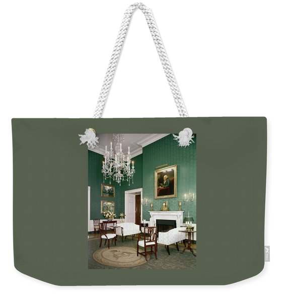 Green Room In The White House Weekender Tote Bag