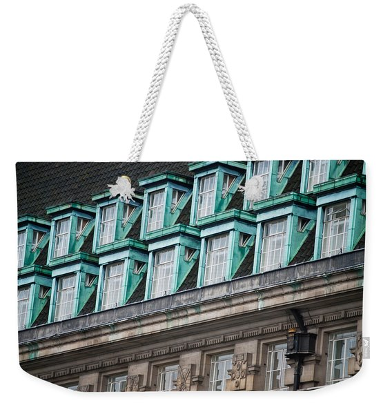 Green Windows Weekender Tote Bag