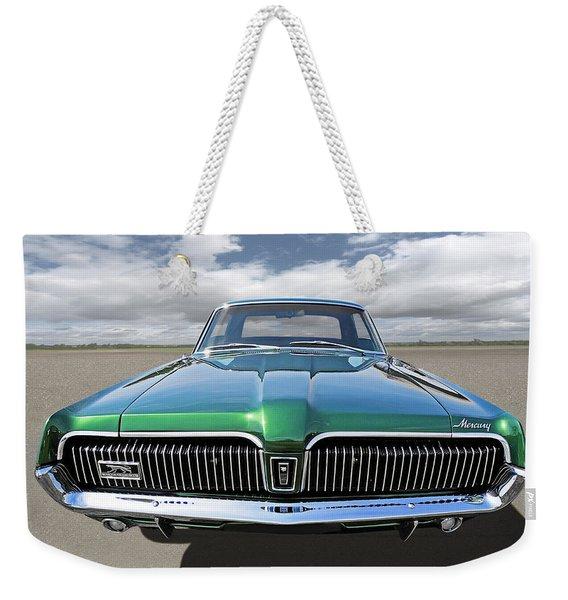 Green With Envy - 68 Mercury Weekender Tote Bag