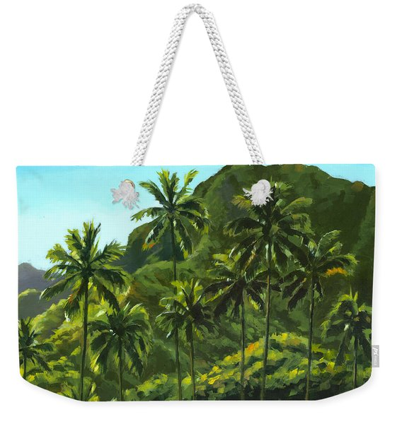 Greens Of Kahana Weekender Tote Bag