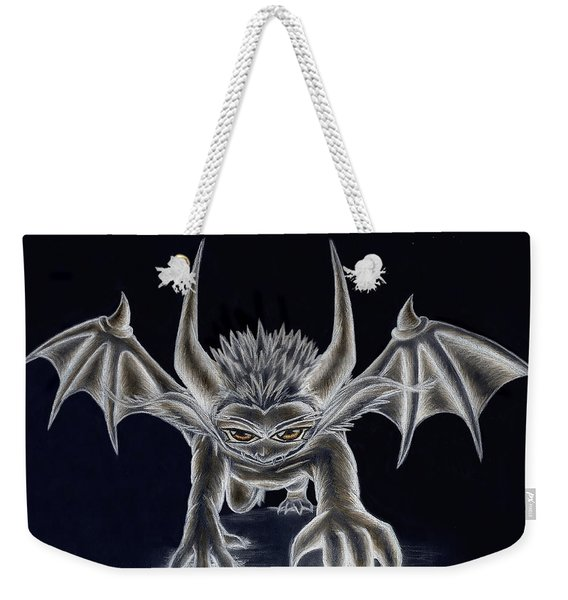 Grevil Inverted Weekender Tote Bag