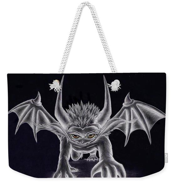 Grevil Silvered Weekender Tote Bag