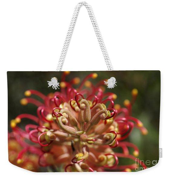Grevillea Superb Australian Flora Weekender Tote Bag