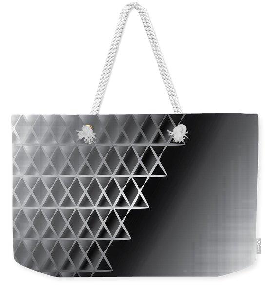 Grid 60 Float Weekender Tote Bag