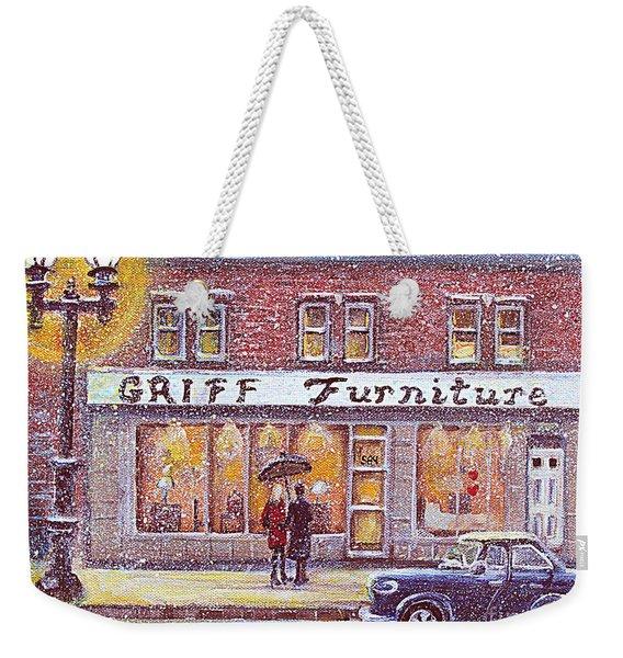Griff Valentines' Birthday Weekender Tote Bag