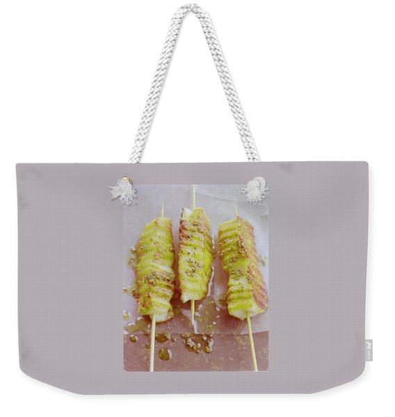 Grilled Haloumi Skewers Weekender Tote Bag