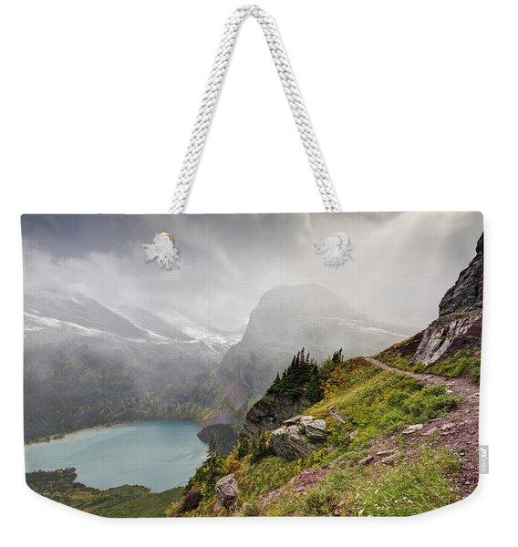 Grinnell Glacier Trail Weekender Tote Bag