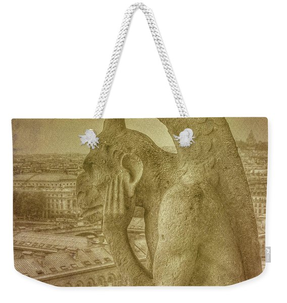 Grotesque From Notre Dame Weekender Tote Bag