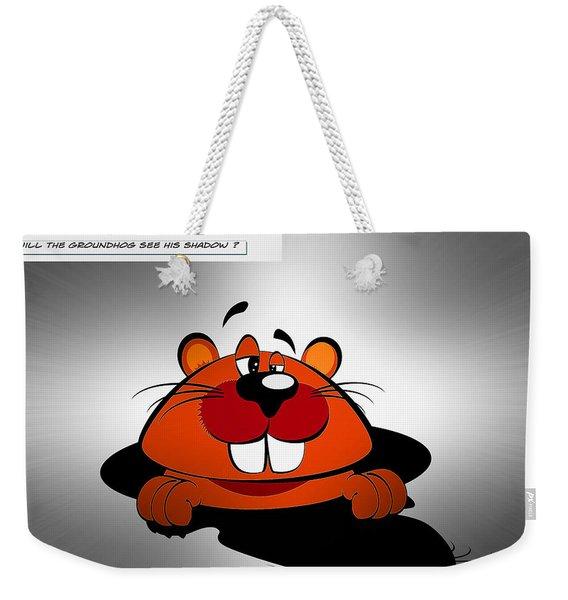 Groundhog Day Weekender Tote Bag