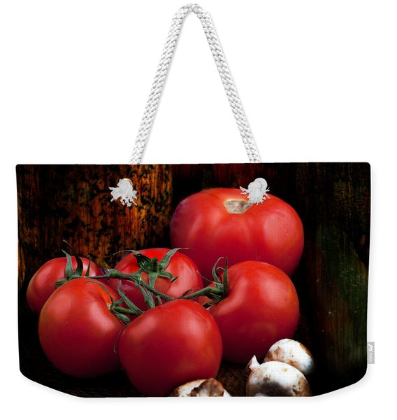 Group Of Vegetables Weekender Tote Bag