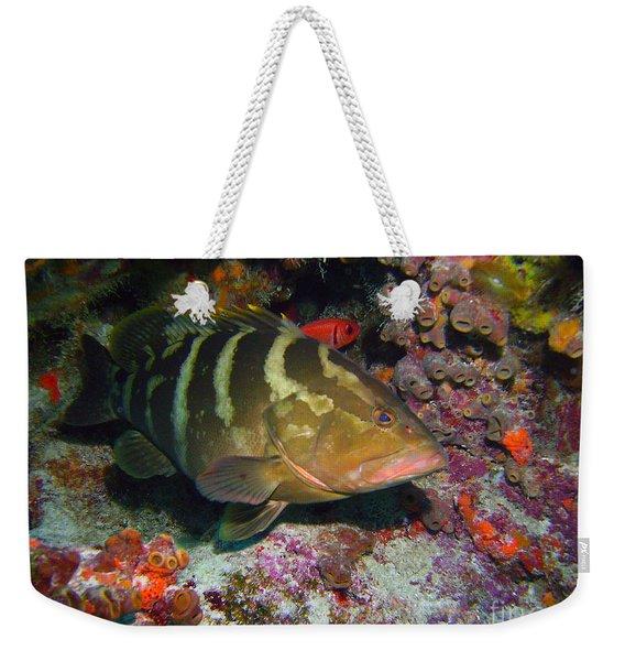 Grouper Weekender Tote Bag