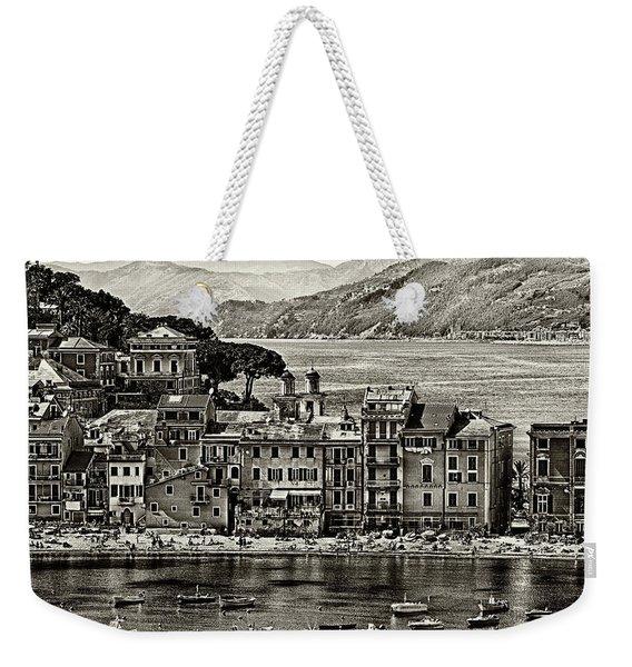 Grunge Seascape Weekender Tote Bag