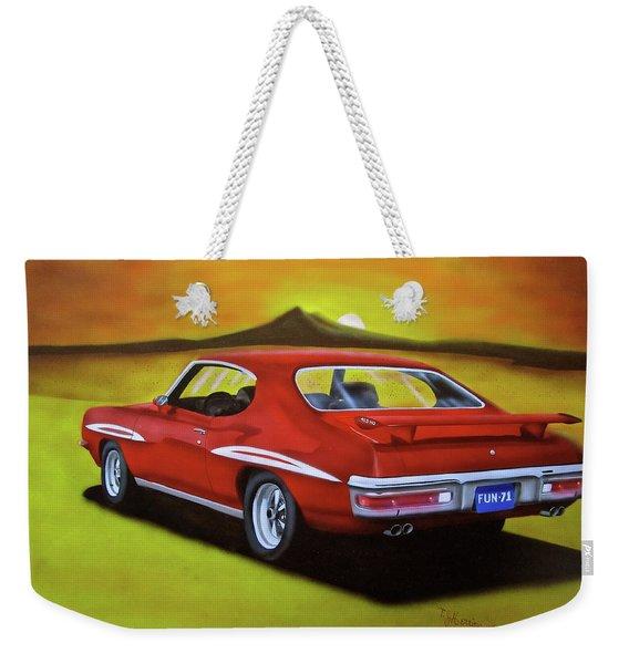 Gto 1971 Weekender Tote Bag