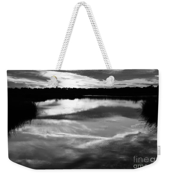 Guana Beach Reflections Weekender Tote Bag