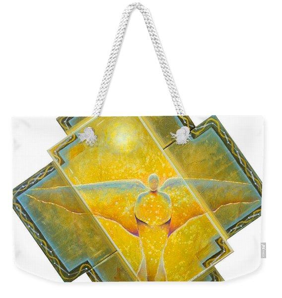 Guardian Of Light Weekender Tote Bag