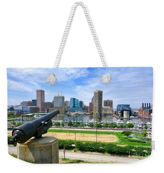 Guarding Baltimore Weekender Tote Bag