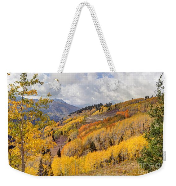 Guardsman Pass Aspen - Big Cottonwood Canyon - Utah Weekender Tote Bag