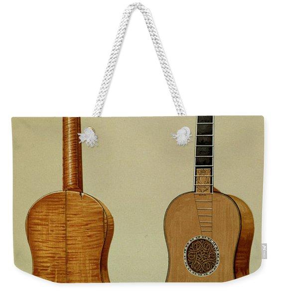 Guitar Made By Antonio Stradivarius Weekender Tote Bag