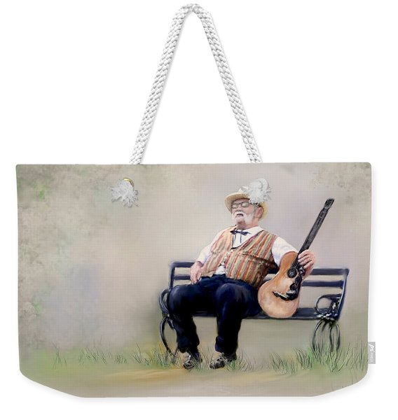 Guitar Man Weekender Tote Bag