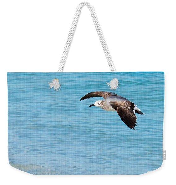 Gull At Lido Beach IIi Weekender Tote Bag