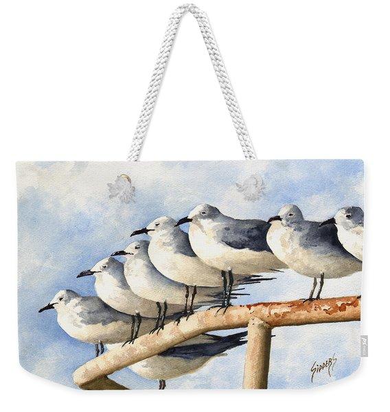 Gulls Weekender Tote Bag