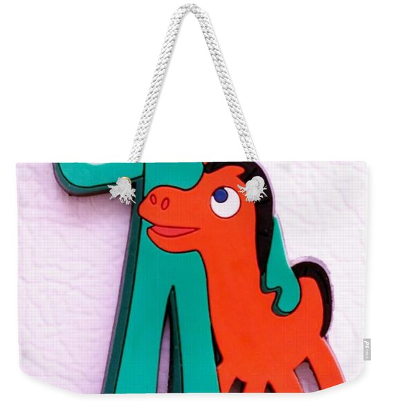 Gumby And Pokey B F F Weekender Tote Bag