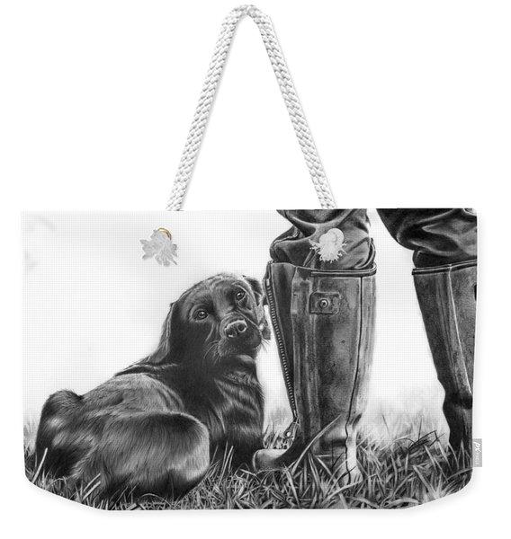 Gun Dog Weekender Tote Bag