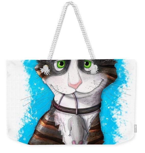 Gus The Mouser Weekender Tote Bag